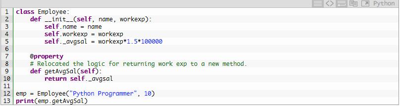 Метод init-правильно