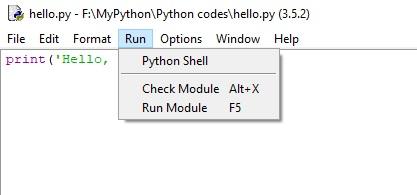 Windows-python-idle